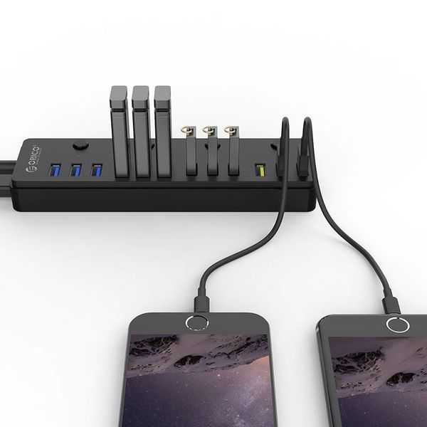 Orico 12 port multi functional USB 3.0 hub with BC 1.2 charging ports
