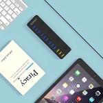 Orico 12 multifunktionales Port USB 3.0 Hub mit BC 1,2 Füllöffnungen