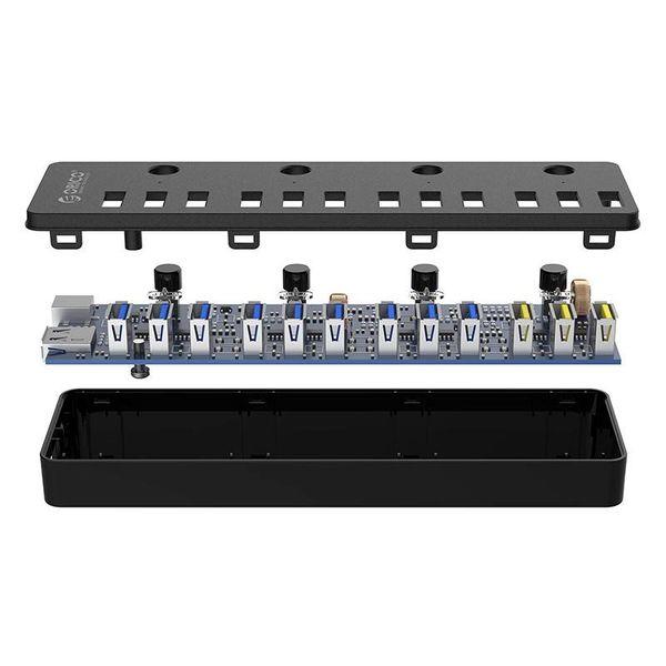 Orico Concentrateur USB 3.0 multifonction à 12 ports avec ports de charge BC 1.2