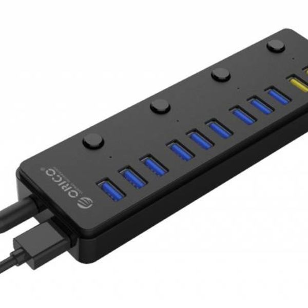 Orico 12 port multi-fonctionnel hub USB 3.0 avec BC 1.2 ports de charge