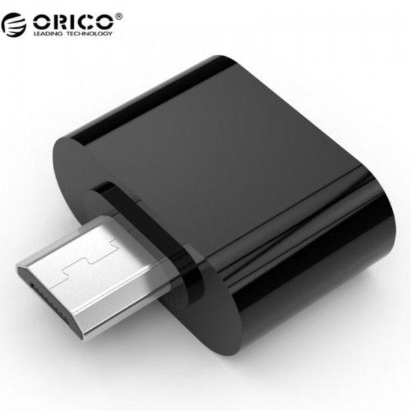 Orico Micro USB OTG adapter - zwart