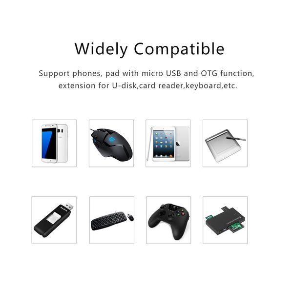 Orico Micro USB OTG adapter - black