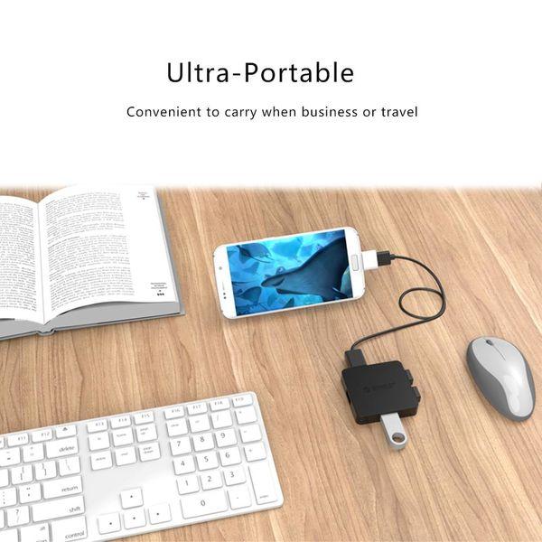 Orico Micro adaptateur USB OTG - blanc