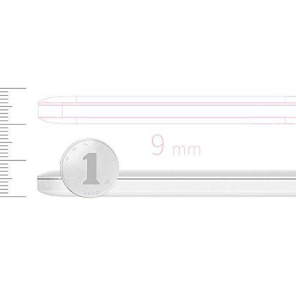Orico 2500mAh Energien-Bank-S-Charge wiederaufladbare Li-Po-Akku enthalten Kabel - weiß