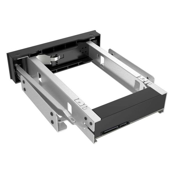 Orico 3.5 inch SATA rack for 5.25 Bay internal hard drive mounting Bracket Adapter - black