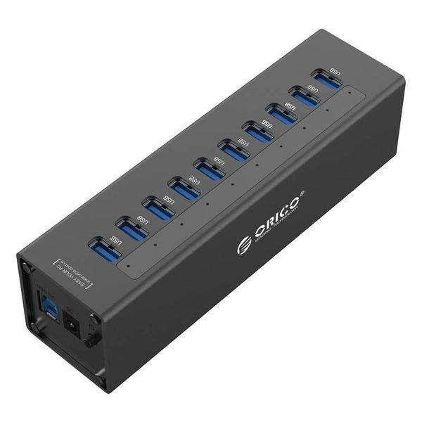Orico HUB USB 3.0 10 ports avec adaptateur secteur 12V