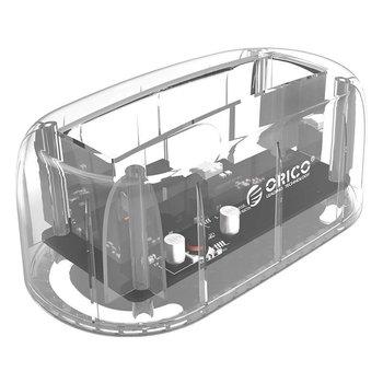 Orico Transparent-Dockingstation für 2,5 oder 3,5-Zoll-Festplatte - Typ C - USB3.0