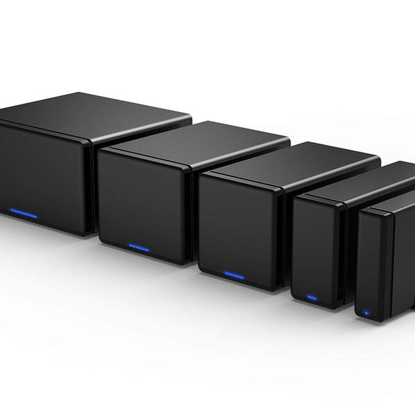Orico Soft Closing-Festplattengehäuse Typ C - 3,5-Zoll-SATA-Festplatten- / SDD-Dockingstation - schwarz
