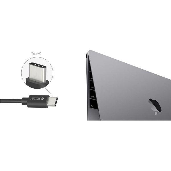 Orico USB3.0 hub type-C connection - 4x USB3.0 type-A port - black