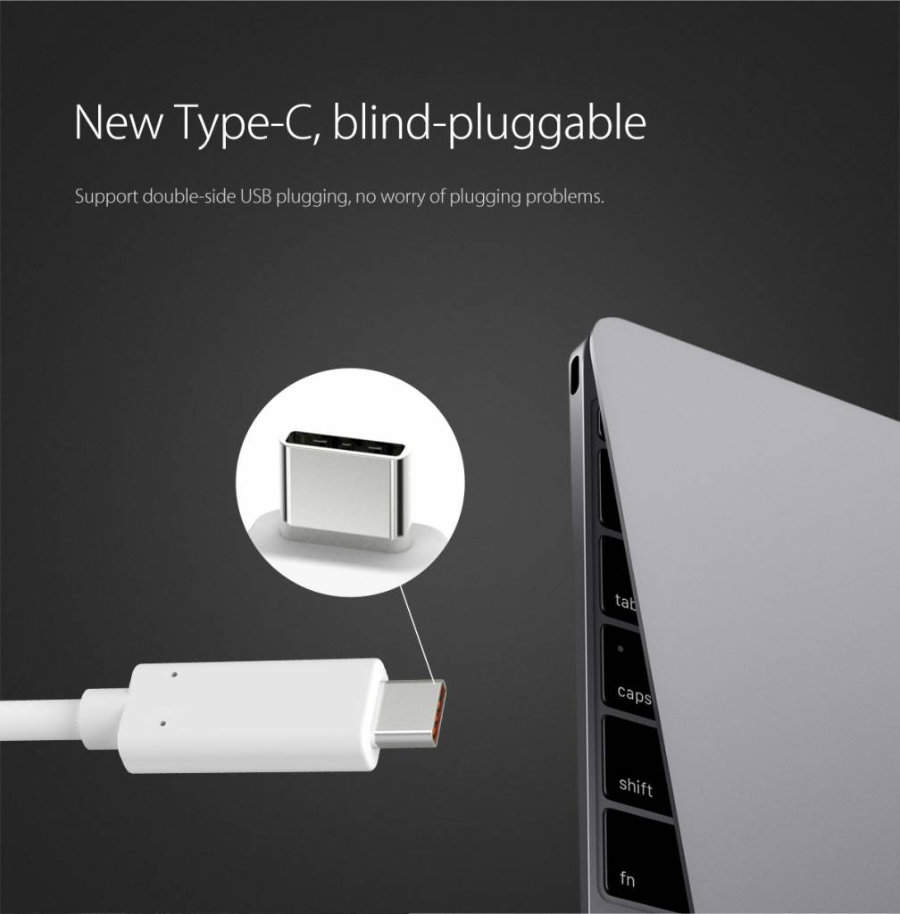 Orico Aluminum Type-C to HDMI Adapter - 4K Ultra HD - for MacBook