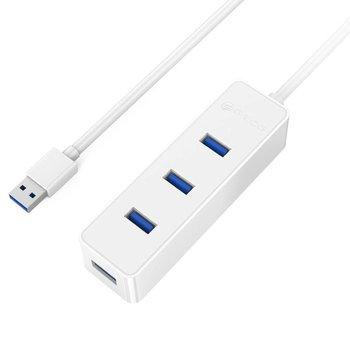 Orico USB3.0 hub met 4 type-A poorten – 5Gbps - 30CM kabel - Wit