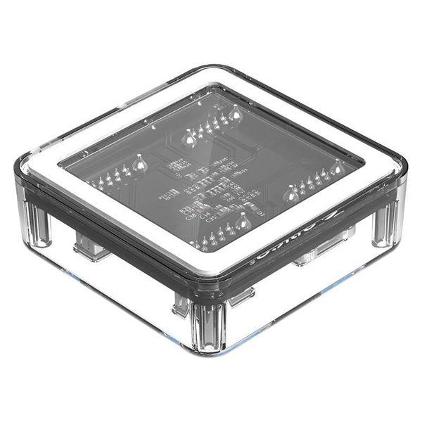 Orico Transparante Hub met 4 USB3.0 type-A poorten – 5 Gbps – Speciale LED-indicator – Datakabel van 1M