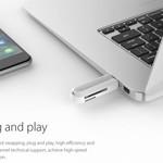 Orico Multifonction USB3.0 lecteur de carte pour les cartes mémoire SD TF & - clé USB 2To - Fonction OTG - 5Gbps - Blanc