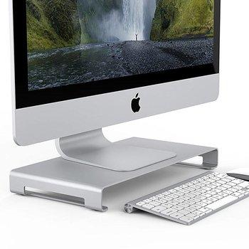 Orico Aluminium laptop/desktop houder voor een ergonomische houding - zilver