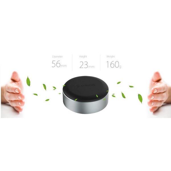 Orico Aluminium supports pour ordinateurs portables / Laptopverhoger - Amélioration de l'angle de vue - Bonne dissipation thermique - Noir / Argent