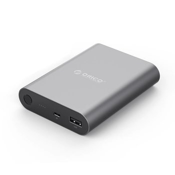 Orico banque d'alimentation en aluminium 10400mAh - Charge rapide 2.0 - Sky gris