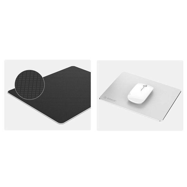 Orico Ultradünnes Aluminium-Mausunterlage - Geeignet für alle Computer-Mäuse - 2mm - Mac Style - Silber
