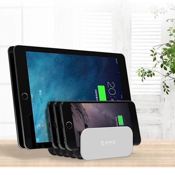 Orico Tablet & Smartphone holder - DIY construction - ABS + PC materials - Gray