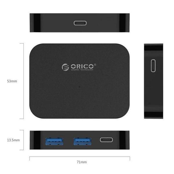 Orico USB3.0 Hub-Typ-C mit 2x USB Typ-A und 2 x USB Typ-C