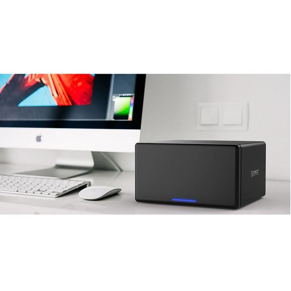 Orico Magnetic 8 Bay Type-C Hard Drive Enclosure