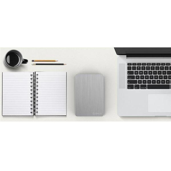Orico 2.5 inch USB3.0 Hard Drive Enclosure - black silver