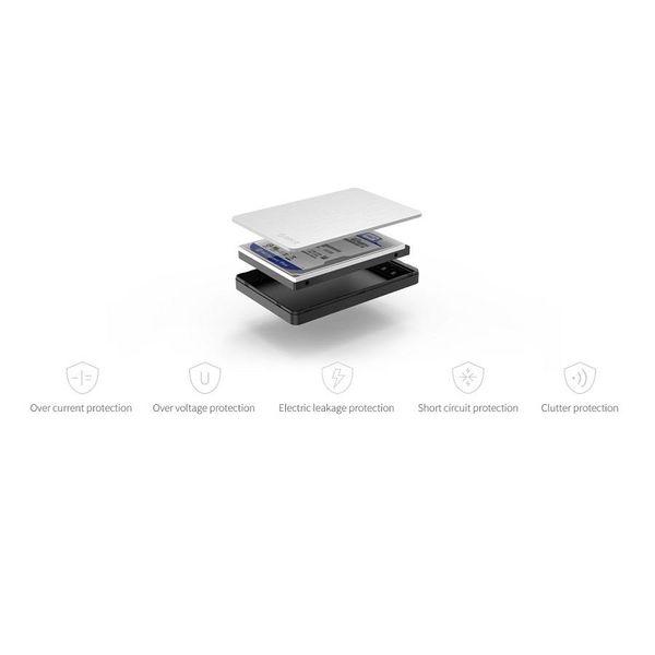 Orico Aluminium 2.5 inch USB 3.0 Harde Schijf Behuizing - HDD/SSD - SATA I, II, III - Zilver/Zwart