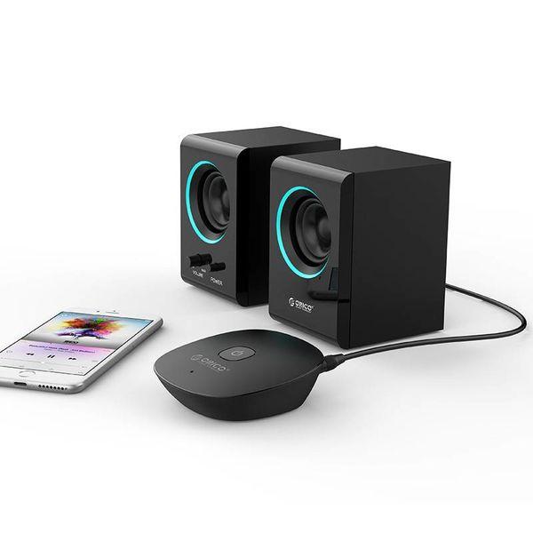 Orico Bluetooth 4.1 Audio Ontvanger met 3.5mm Audio-uitgang – Speciale NFC-Functie – Zendbereik van 10M - Aan/Uit Schakelaar – LED-indicator – zwart