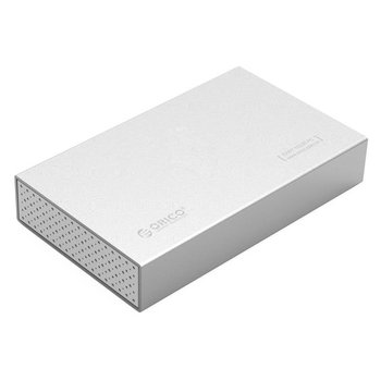Orico Aluminium 3.5 inch Harde Schijf Behuizing - Zilver