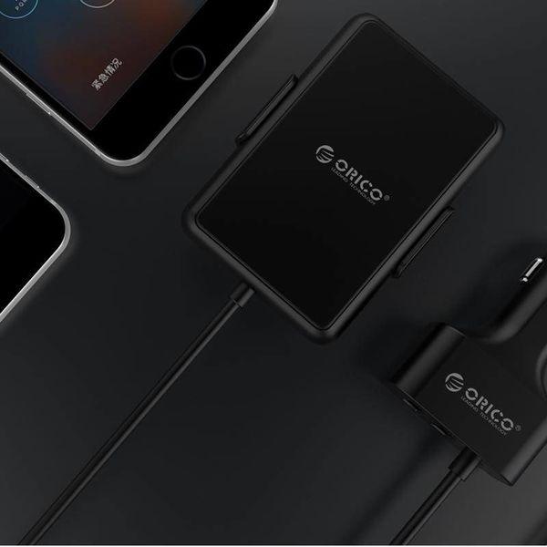 Orico 52W QC3.0 5 Port avec cordon d'extension chargeur de voiture