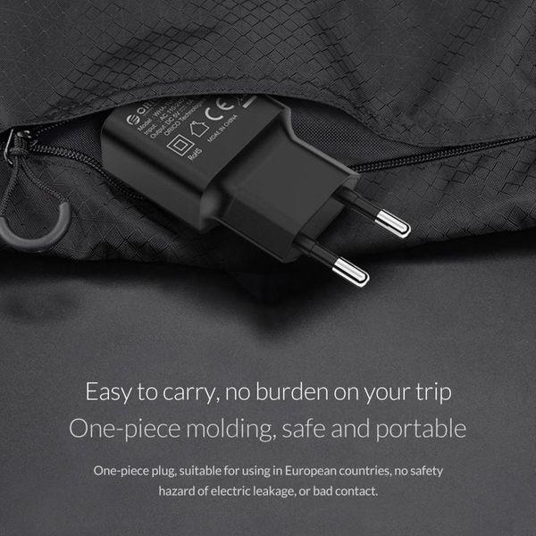 Orico Chargeur USB pour la maison chargeur de voyage compact 1A / 5W - Noir