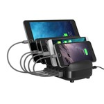 Orico 40W Multi charger docking station 5 Port USB charging station - Black