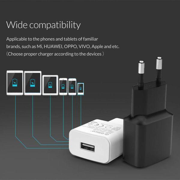 Orico USB thuislader compacte reislader 1A / 5W - Zwart