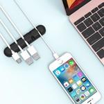 Orico Zelfklevende kabelhouder - Organiseer tot 5 kabels van 5mm dik - 3M - zwart