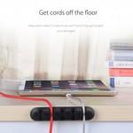 Orico Fixateur de câble de bureau adhésif - Noir