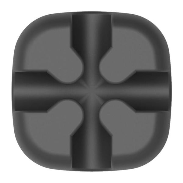 Orico Multifunctional cable clip - Cable management - for cables up to 5mm thick - 3M - Black