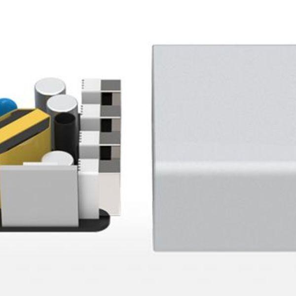 Orico Tischladegerät aus Aluminium mit 4 Anschlüssen