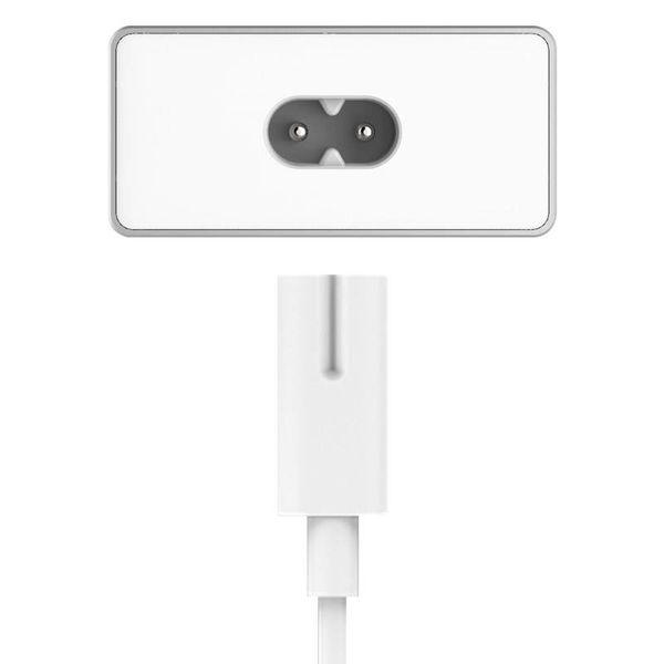 Orico Aluminium bureaulader met 4 USB-laadpoorten en intelligente apparaat herkenning - LED-indicator - Zilver