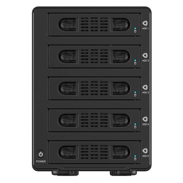 Orico Boîtier SATA 3.5 pouces USB 3.0 en aluminium - Noir