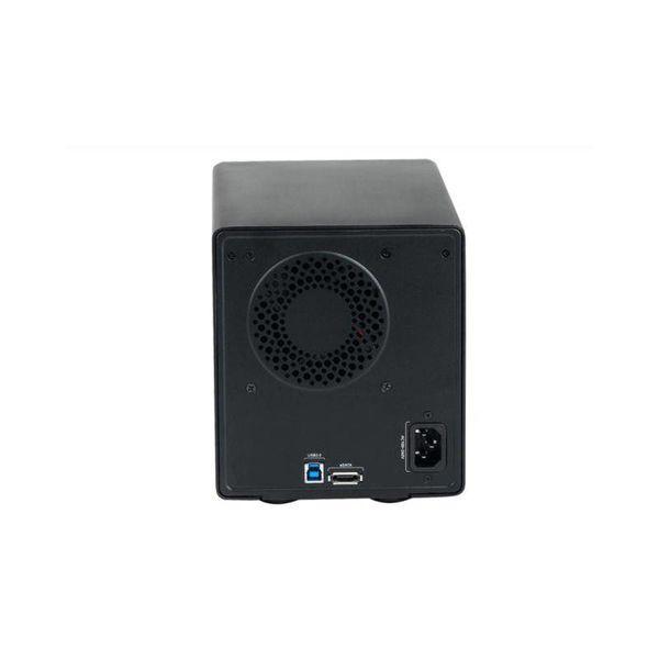 Orico USB 3.0 Aluminium 4 Bay 3,5 Zoll SATA Gehäuse - Schwarz