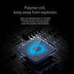 Orico Zijdezachte powerbank 8000mAh - Lithium-Polymeer (Li-Po) batterij - 25%/50%/75%/100% LED-indicator - Incl. Datakabel - Zwart