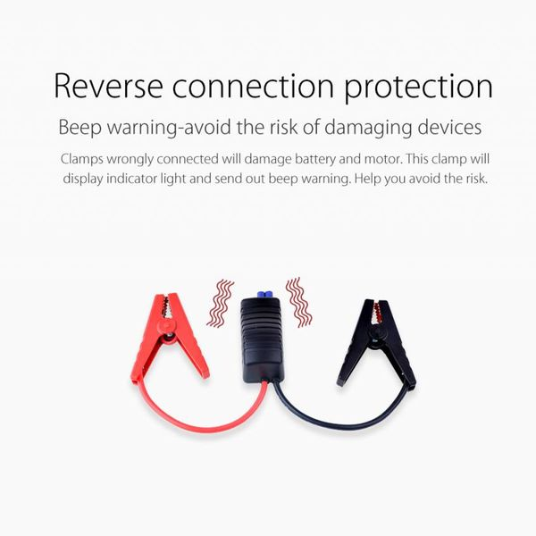 Orico 2-in-1 Jumpstarter en outdoor powerbank 12000mAh - Li-Po batterij - LED-indicator - Waterdichte rubberen behuizing – Zwart