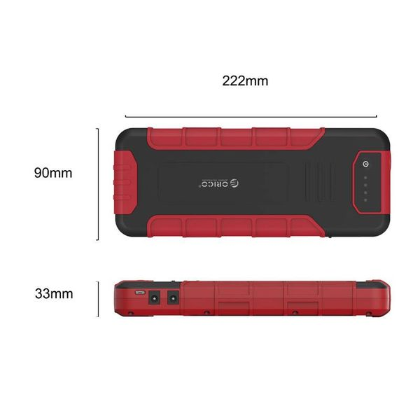 Orico 18000mAh outdoor power bank and Jump Starter