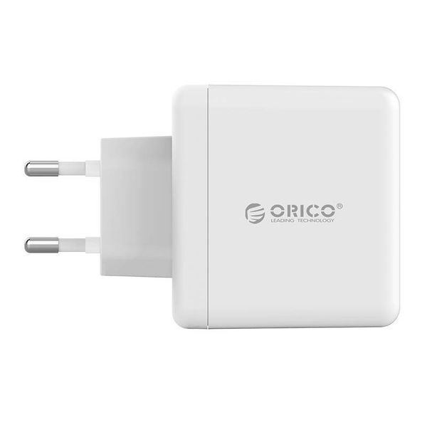 Orico Intelligentes 3-Port-Wandladegerät - Weiß