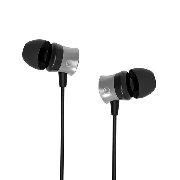 Orico In-ear headphones with microphone and control button - 3.5mm jack - High resolution audio - Black