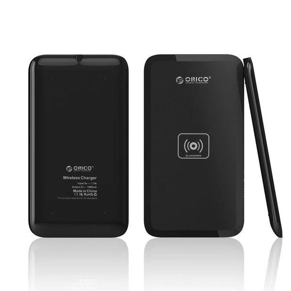Orico Stijlvolle draadloze oplader - Wireless laden via de QI-standaard - Incl. stroomadapter - Matzwart