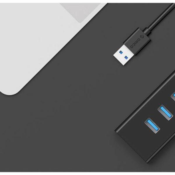 Orico 4 ports USB3.0 Hub pour Windows XP / Vista / 7/8/10 / Linux / Mac OS