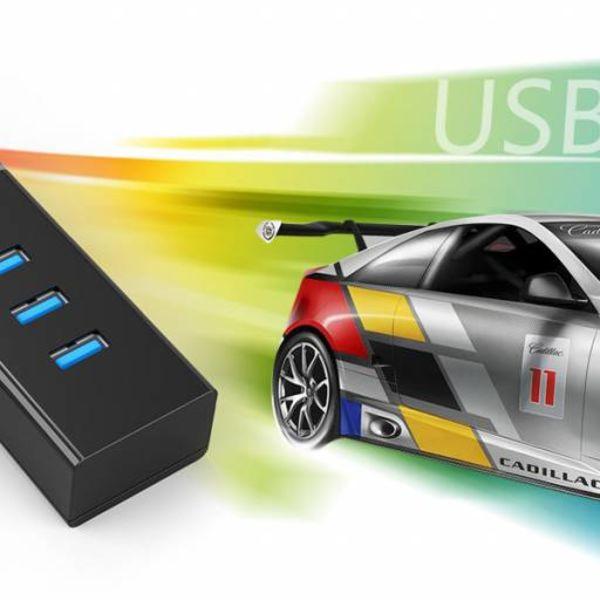 Orico 4 Port USB3.0 Hub für Windows XP / Vista / 7/8/10 / Linux / Mac OS