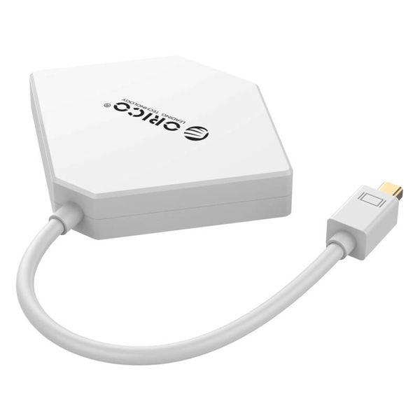 Orico MiniDP to HDMI - DVI - VGA Adapter - Full HD - white