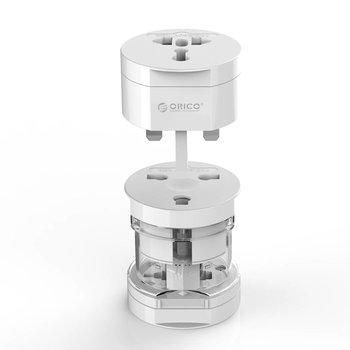 Orico All-in-one plug adapter - Wereldwijd gebruik – Wit