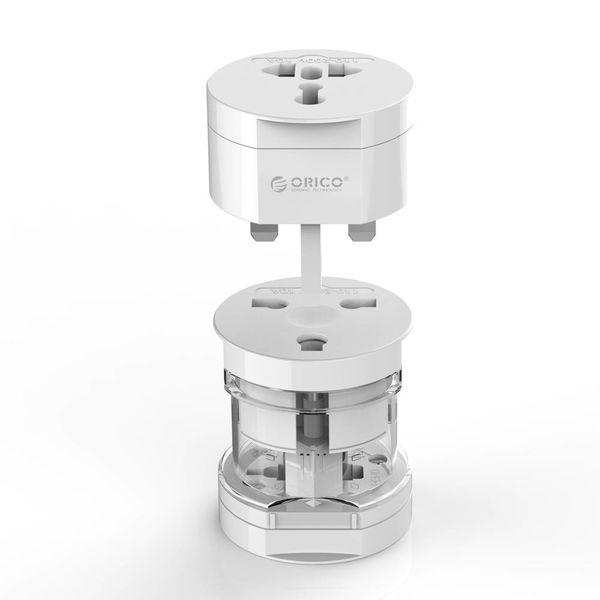 Orico Weltweiter All-in-One-Steckeradapter - Weiß